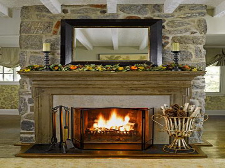 decorating ideas to make your fireplace pop diamond
